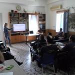 """Ενημερωτική ομιλία στην Πυροσβεστική Υπηρεσία Λήμνου με θέμα """"Πρώτες Βοήθειες Ψυχολογικής Παρέμβασης (Psychological First Aid /PFA intervention)"""" στα πλαίσια της ετήσιας εκπαίδευσης τους."""